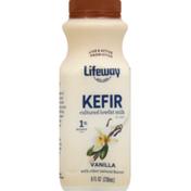 Lifeway Kefir Cultured Lowfat Milk, 1% Milkfat, Vanilla