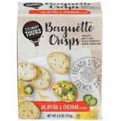 Culinary Tours Jalapeno & Cheddar Flavor Baguette Crisps