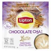 Lipton Chocolate Chai With Organic Spices Chocolate Chai Latte
