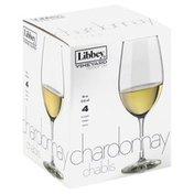 Libbey Glasses, Chardonnay Chablis, 18 oz