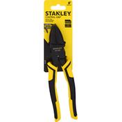 Stanley Lineman's Pliers, 3-Zone Grip, 8 Inch