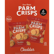 ParmCrisps Cheese Snack, Cheddar, Oven-Baked