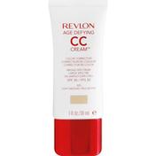 Revlon CC Cream, Color Corrector, Broad Spectrum SPF 30, Light Medium 020
