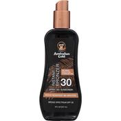 Australian Gold Sunscreen, Spray Gel, Instant Bronzer, Broad Spectrum SPF 30