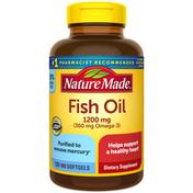 Nature Made Fish Oil 1200mg + Omega-3 360mg