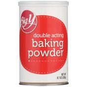 Big Y Double Acting Baking Powder