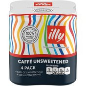 Illy Issimo Caffé Unsweetened Italian Style Coffee Drink