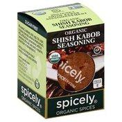 Spicely Organics Seasoning, Organic, Shish Kabob