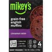 Mikey's Cinnamon Raisin Paleo Muffin