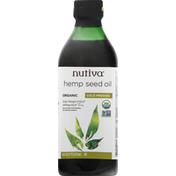 Nutiva Hemp Seed Oil, Cold Pressed, Organic