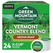 Green Mountain Coffee Roasters Vermont Country Blend K-Cup Pods