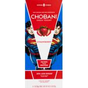Chobani Greek Yogurt Tubes Strawberry