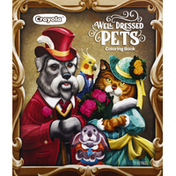 Crayola Coloring Book, Well Dressed Pets