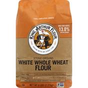 King Arthur Baking Company Flour, White Whole Wheat, Stone-Ground
