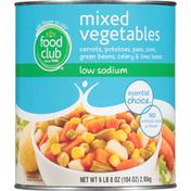 Food Club Mixed Vegetables Low Sodium Carrots, Potatoes, Peas, Corn, Green Beans, Celery & Lima Beans