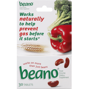Beano Food Enzyme, Tablets