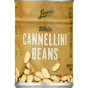 Lowes Foods Cannellini Beans, White