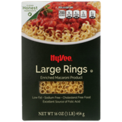 Hy-Vee Enriched Macaroni Product, Large Rings