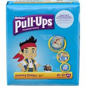 Pull-Ups Learning Designs 4T-5T Boys Training Pants