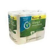 Simply Done Ultra Strong & Absorbent Paper Towels Rolls