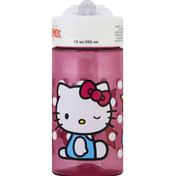 Thermos Bottle, Hello Kitty, 12 Ounces