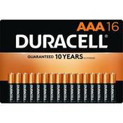 Duracell Batteries, Alkaline, AAA, 1.5 V, 16 Pack