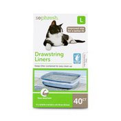 So Phresh Large St Drawstring Cat Liner