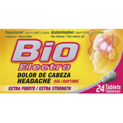 Bio Electro Pain Reliever, Extra Strength, Tablets