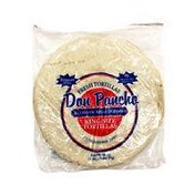 Don Poncho Fresh Tortillas Authentic Mexican Foods King Size Tortillas Cholesterol Free