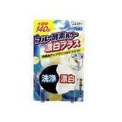 ST Blue Enzyme Bleach Plus Power Toilet Refresh Tablet
