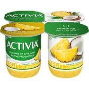 Activia Fruit on the Bottom Pineapple & Coconut Yogurt