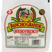 Rancho Grande Cheese, Queso Fresco, Whole Milk