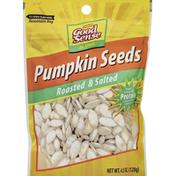 GoodSense Pumpkin Seeds, Roasted & Salted, In-Shell