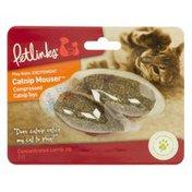 Petlinks Compressed Catnip Toys, Catnip Mouser