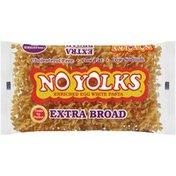 No Yolks Cholesterol Free Egg White Pasta Extra Broad Noodles