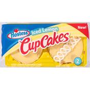 Hostess Cup Cakes, Iced Lemon
