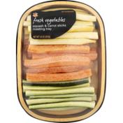 Ahold Squash & Carrot Sticks Roasting Tray