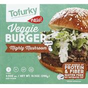 Tofurky Veggie Burger, Mighty Mushroom