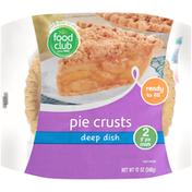 Food Club Deep Dish Pie Crusts