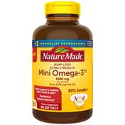 Nature Made Burpless Extra Strength Mini Omega 3††