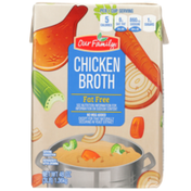 Our Family Fat Free Chicken Broth