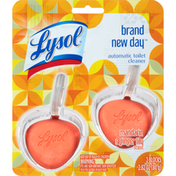 Lysol Automatic Toilet Cleaner, Mandarin & Ginger Lily Scent