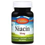 Carlson Labs Niacin 50 mg