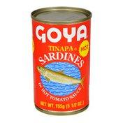 Goya Tinapa Sardines, in Hot Tomato Sauce