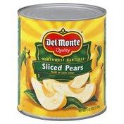 Del Monte Pears, Sliced, Northwest Bartlett