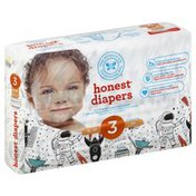The Honest Company Diapers, Honest, Space Travel, Size 3 (16-28 Pounds)