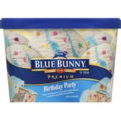 Blue Bunny Ice Cream, Premium, Birthday Party