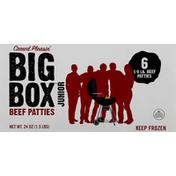 Big Box Beef Patties, Junior