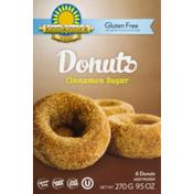 Kinnikinnick Foods Gluten Free Donuts Cinnamon Sugar