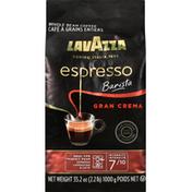Lavazza Coffee, Whole Bean, Medium, Espresso Barista